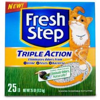 Ever Clean Fresh Step Tripl Act Scp Ltr 25 Lbs