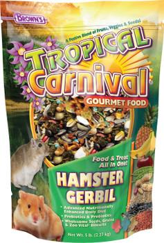 F.M. Brown's Tropical Carnival Hamster Food 5lb {L+1} C= 423154