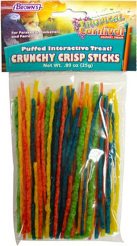 F.M. Brown's Tropical Carnival Crinkle Crisps Stick 0.89z {L+1}423179