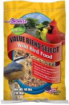 F.M. Brown's Value Blend Wild Bird Food 20 lb.