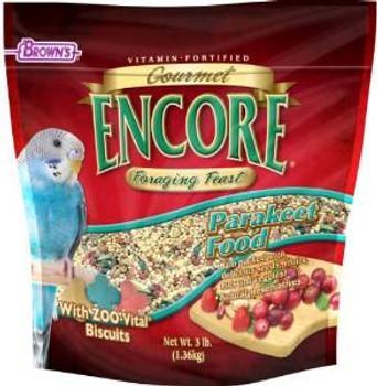 F.M. Brown's Encore Grmt Keet Food 3 Lbs