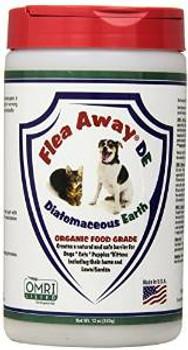 FLEA AWAY Flea Away Diatomaceous F/t 12 Oz
