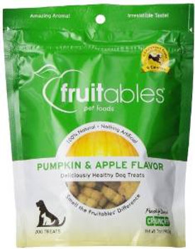 Fruitables Dog Treats Pumpkin & Apple 7 Oz. (each)