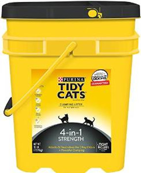 Tidy Cat 4in1 Pail Scp Ltr 35 Lbs