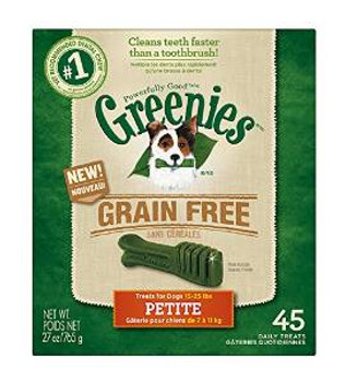Greenies GF Treat-pak Petite 27oz
