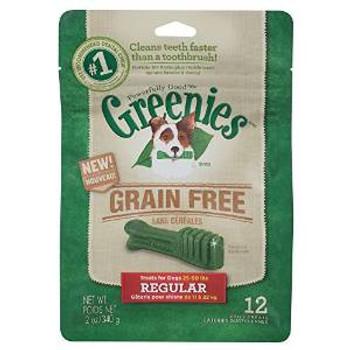 Greenies GF Treat-pak Bag Regular 12oz