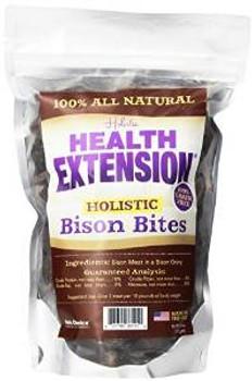 Health Extension Bison Bites Treats 6 Oz.