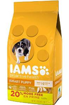 Iams Proactive Hlth Pup 7 Lbs Case of 4