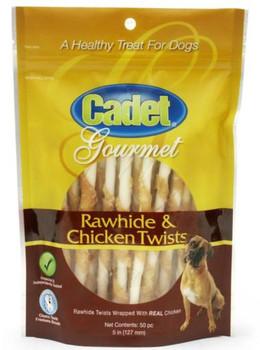 IMS Cadet 50 Piece Rawhide & Chicken Twist