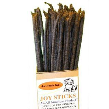 "J J Fuds Joy Sticks Rawhide Beef 36"" 80/cs"