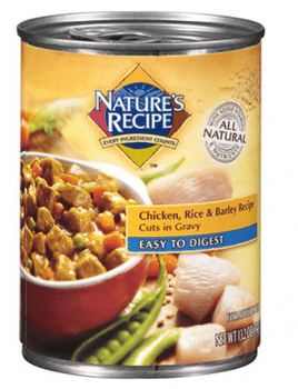 Nature's Recipe Wet Easy-To-Digest Chicken Chunk Canned 12ea/13.2oz