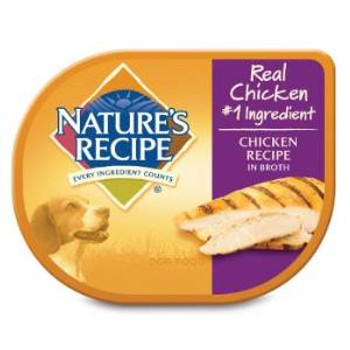 Natures Recipe chicken  W/broth Dog 24/2.75z