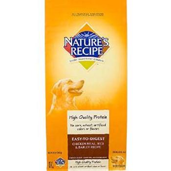 Natures Recipe Etd chicken /rc/barley Dog 30 Lbs