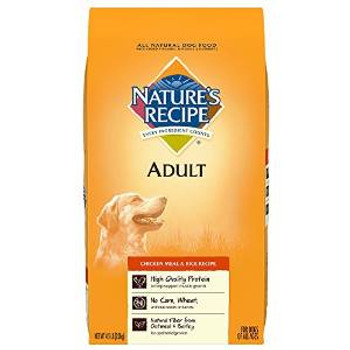 Natures Recipe chicken /rc Adlt Rcp Dry Dog 15 Lbs
