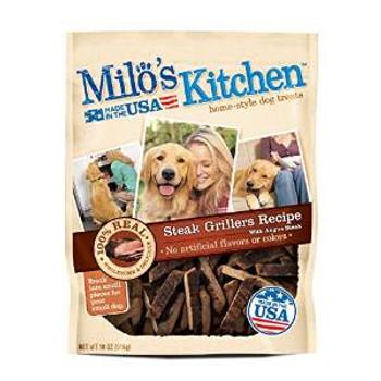 JM SMUCKER Milo's Kitchen Steak Grillers Beef 4/18 Oz.
