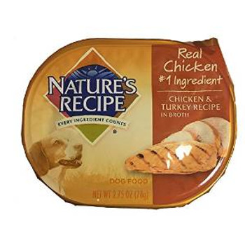 Natures Recipe chicken /tky/tna Dog 24/2.75z