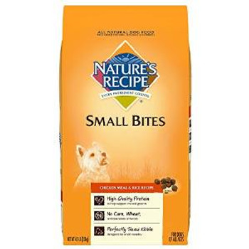 Natures Recipe chicken /rc Sm Bte Rcp Dog 5/4.5 Lbs