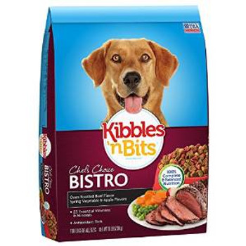 JM SMUCKER Delmonte Kibbles N Bits Bistro Meals Beef 16 Lb.