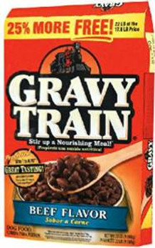JM SMUCKER Gravy Train Beefy Classic Dry Dog Food 14#