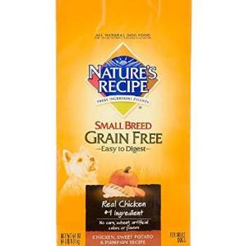 Natures Recipe Gf chicken  Sm Brd Rcp 12 Lbs