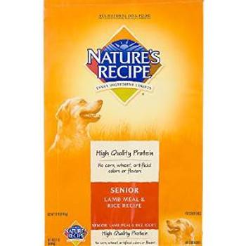 Natures Recipe Lmb/rc Dry Sr Dog 30 Lbs