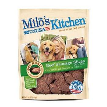 JM SMUCKER Milo's Kitchen Sausage 4/18 Oz.