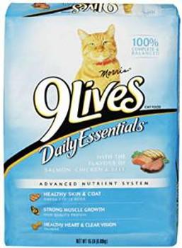 JM SMUCKER 9 Lives Dry Daily Essentials 20 Lb