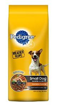 Mars Pedigree Sm Brd Orig Dog 5/3.5 Lbs