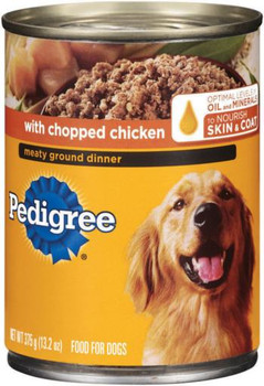 PEDIGREE TRADITIONAL GROUND DINNER with Chopped Chicken 12/13.2Z *REPL 798172