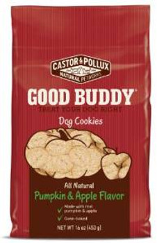 Merrick Castor & Pollux Good Buddy Pumpkin/apple Treat 1 Lb.