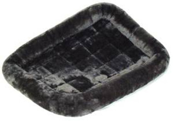 """Midwest 40224gy Qt Gry Pet Bed 24"""""""