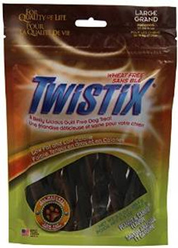 N-bone Twistix Peanut/carob Large 5.5z