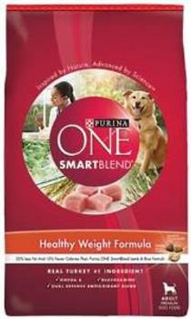 One Smtblnd Hlth Wgt Dog 16.5 Lbs