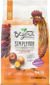 Purina One Beyond Grain Free Chicken /and Egg Dog 3lb {l-1} C= 178439