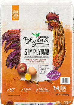 Purina One Beyond Grain Free Chicken and Egg Dog 13lb {L-1}178180