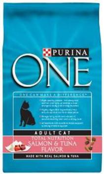 One Adult Cat Slm/tna 4/7 Lbs