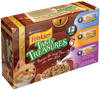 Friskies Tasty Treasures Variety 2-12/5.5z *REPL 050386
