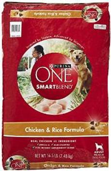 One Smtblnd chicken /rc Dog 16.5 Lbs