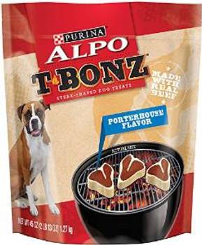 Alpo Tbon Ozprths Dog Trt 4/45 Oz