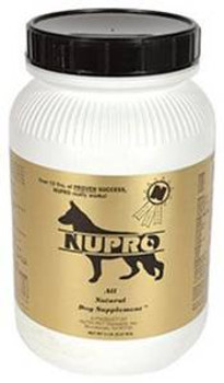 Nupro All Natural Dog Supplements 5 Lb.