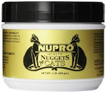 Nupro Health Nuggets For Cats 1 Lb.