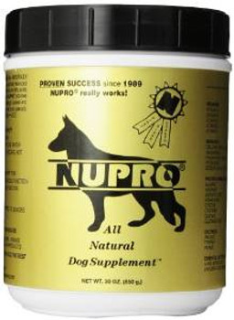 Nupro All Natural Dog Supplements 30 Oz.