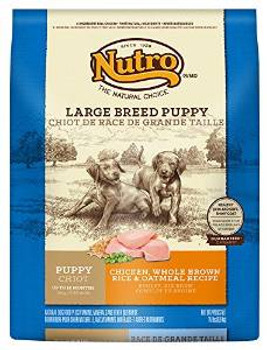 Nutro Natural Choice Large Breed Chicken/brown Rice/oatmeal Puppy 15#
