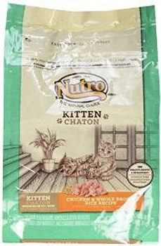 Nutro Natural Choice Wholesome Essentials Chicken/brown Rice Kitten 3# Case of 6 *replaces 791042