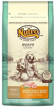 Nutro Natural Choice Chicken/brown Rice/oatmeal Puppy 5# Case of 4
