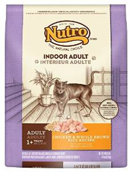 Nutro Natural Choice Indoor Chicken/brown Rice Cat 14# *replaces 791023