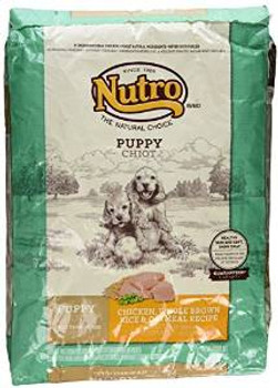 Nutro Natural Choice Chicken/brown Rice/oatmeal Puppy 15#