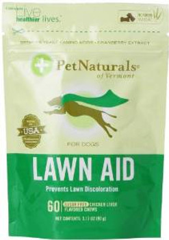 Pet Naturals of Vermont Softchw Lawn Aid 6/3.16oz