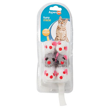 Soft Bite Mice are an all-time feline favorite! Available in a variety of fabrics and colors, each mouse contains catnip to drive your cat crazy. Choose from standard fur, colorful plush or multi-colored sisal mice. Your cat will be entertained for hours batting these mice around and digging their claws into the material.