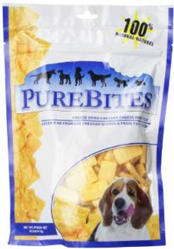 Purebites Cheddar Cheese Freeze Dried Treat 16.6 Oz. (replaces 789012 20.4 Oz.)